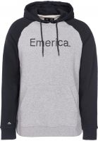 Emerica Hoodies Purity black-grey Vorderansicht