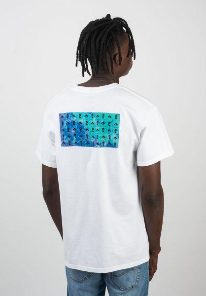 Emerica T-Shirts x Psockadelic Blotter white vorderansicht 0320367
