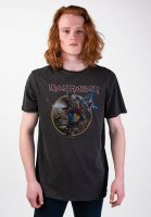 amplified-t-shirts-iron-maiden-trooper-charcoal-vorderansicht-0399946