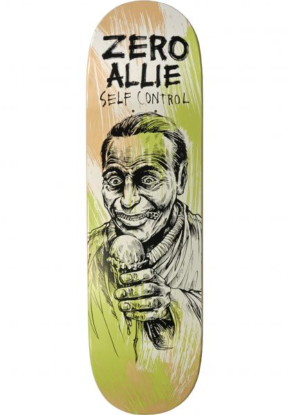 Zero Skateboard Decks Allie Self Control multicolored vorderansicht 0261062