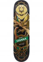 primitive-skateboards-skateboard-decks-vianna-tamarin-black-gold-green-vorderansicht-0266045