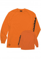 OJ Wheels Longsleeves Bar Logo orange Vorderansicht