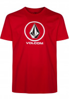 Volcom T-Shirts Crisp candyapple Vorderansicht