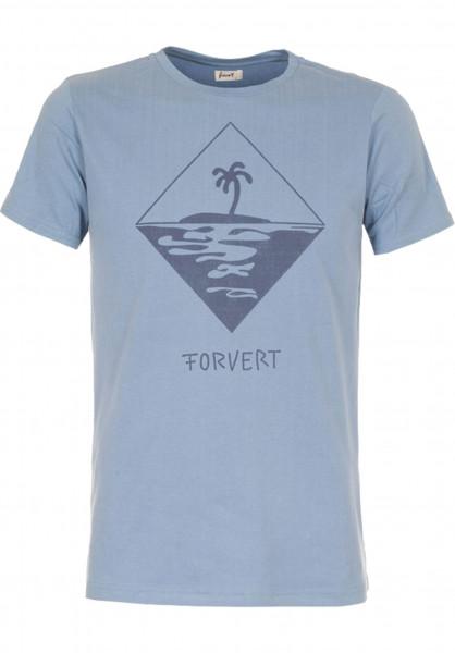 Forvert T-Shirts Tad blue Vorderansicht