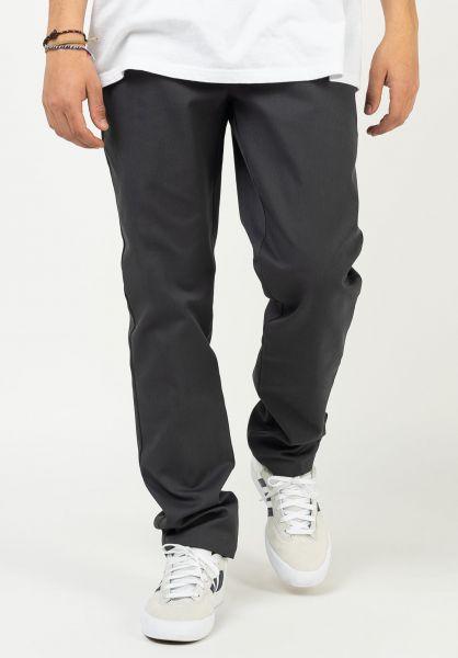 Dickies Chinos und Stoffhosen Slim Fit Work Pant 872 charcoal-grey vorderansicht 0204258