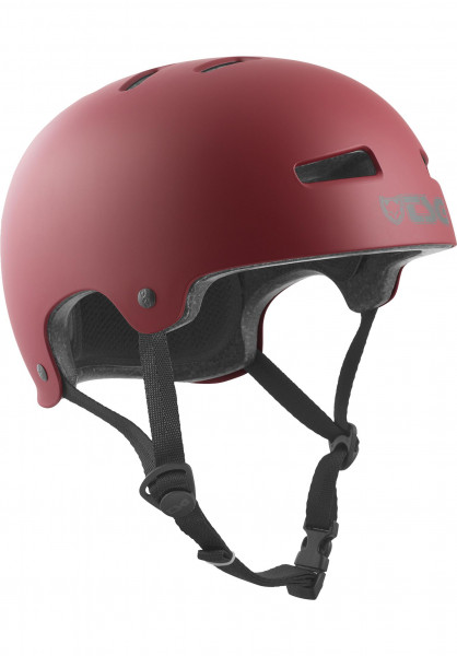 TSG Helme Evolution Solid Colors satin oxblood Vorderansicht