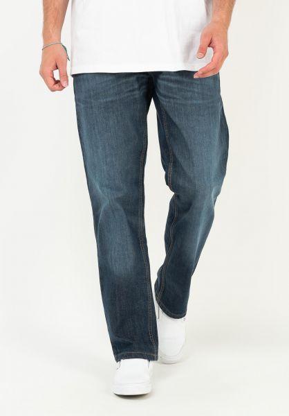 DC Shoes Jeans Worker Relaxed Denim darkstone vorderansicht 0269164