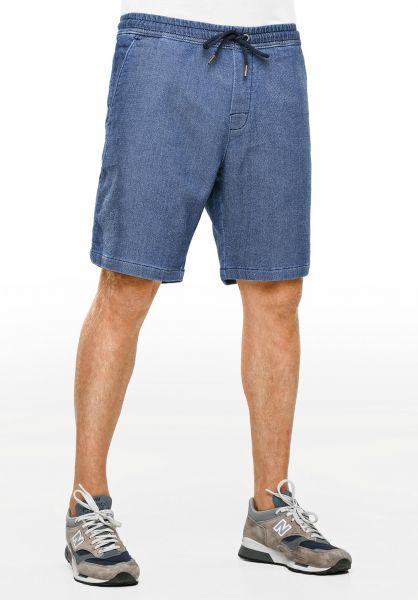 Reell Shorts Easy midblue Vorderansicht