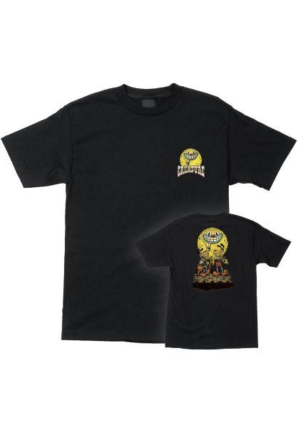 Creature T-Shirts Festival black vorderansicht 0321723