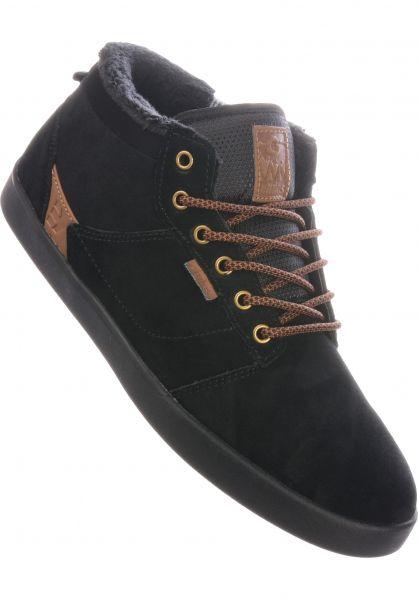 etnies Alle Schuhe Jefferson MTW black-green vorderansicht 0604658