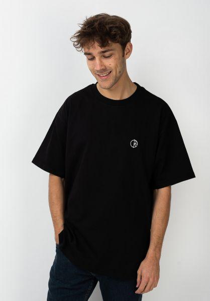 Polar Skate Co T-Shirts Team black vorderansicht 0321426