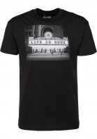GUDE-T-Shirts-Cinema-black-Vorderansicht
