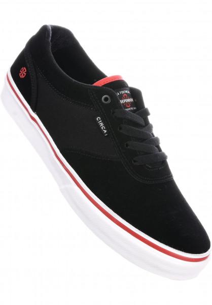 C1RCA Alle Schuhe Gravette x Independent indy-black-white Vorderansicht