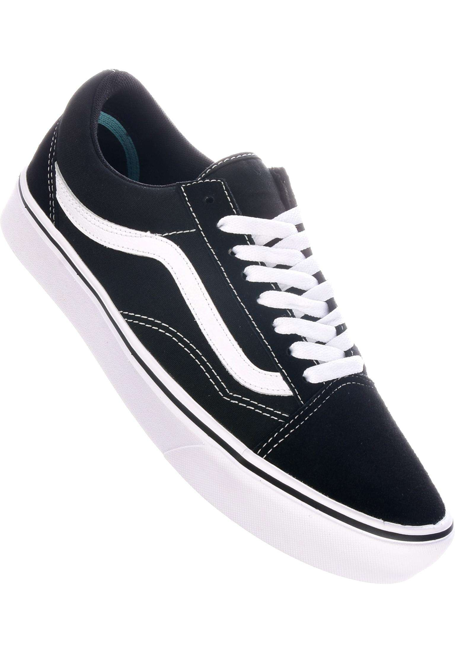Old Skool Comfy Cush Vans All Shoes in black-white for Men  e592f5afa