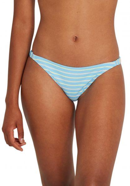 Volcom Beachwear Next Inline Hipster Bikini-Bottom coastalblue vorderansicht 0205455