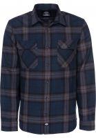 Dickies Hemden langarm Brownsburg blue Vorderansicht