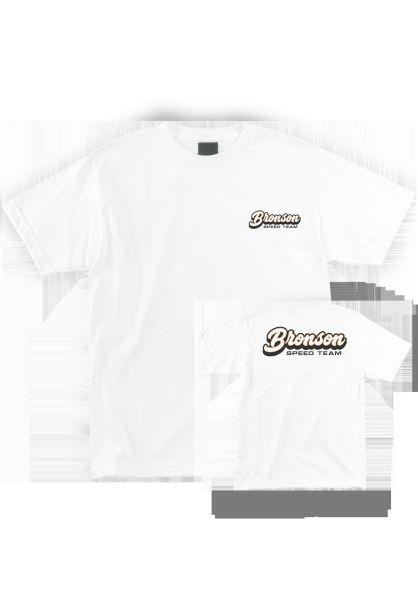 Bronson Speed Co. T-Shirts Speed Team white vorderansicht 0383217