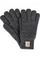 carhartt-wip-handschuhe-scott-gloves-darkgreyheather-black-vorderansicht-0117103