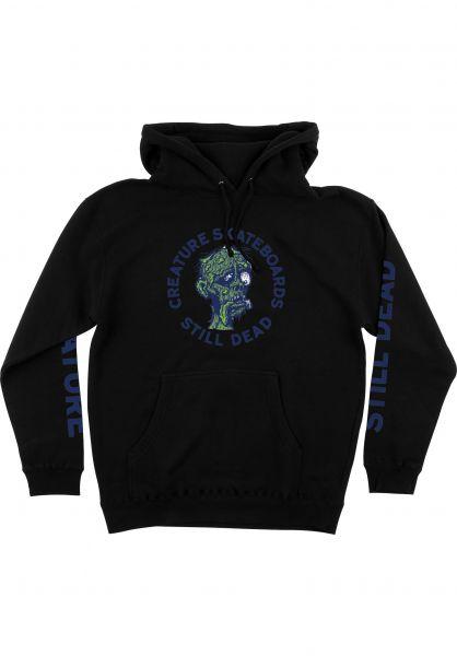Creature Hoodies Return of the Fiend black vorderansicht 0446426