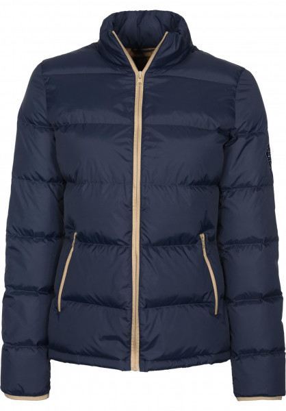 Light Winterjacken Shake navy Vorderansicht