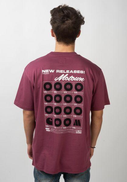 Carhartt WIP T-Shirts x Motown Orderform dustyfuchsia vorderansicht 0320728