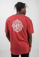 huf-t-shirts-coordinates-rosewoodred-vorderansicht-0320736