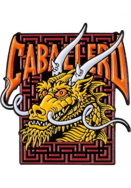 Powell-Peralta Verschiedenes Cab Street Dragon Lapel Pin multicolored vorderansicht 0972502