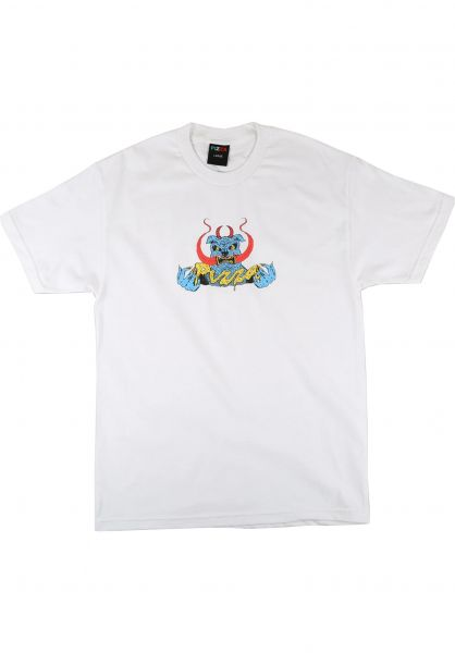 Pizza Skateboards T-Shirts Cujo white vorderansicht 0322330