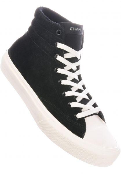 Straye Alle Schuhe Venice Suede black-cream vorderansicht 0604721