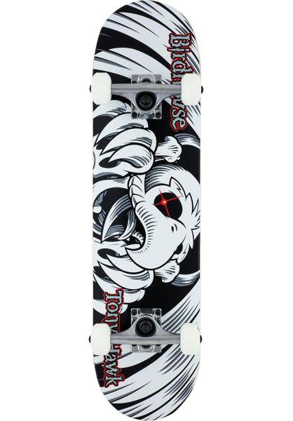 Birdhouse Skateboard komplett Falcon Mini black-white Vorderansicht 0161797