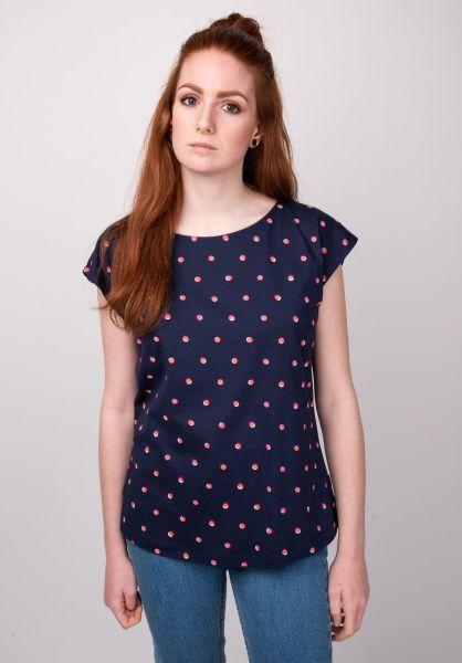 Forvert T-Shirts Waru navy-dots vorderansicht 0398613