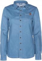 TITUS Hemden langarm Dini blue-vintage Vorderansicht