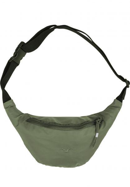 Cleptomanicx Hip-Bags Simplist dusty-olive Vorderansicht 0891277