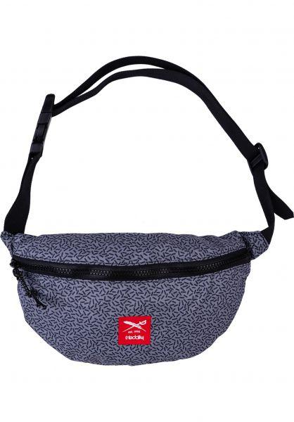 iriedaily Hip-Bags Rastron grey-red vorderansicht 0169118