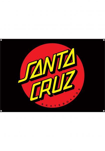 Santa-Cruz Verschiedenes Dot Flag OS Unisex black vorderansicht 0972701