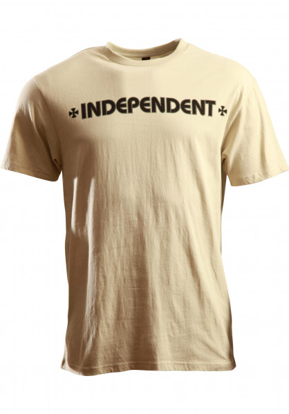 Independent T-Shirts Tiger Cross vintage-white Vorderansicht