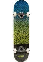 inpeddo-skateboard-komplett-feather-black-green-yellow-vorderansicht-0161926
