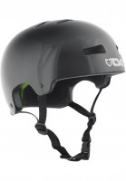 TSG Helme Evolution Solid Colors injected black Vorderansicht