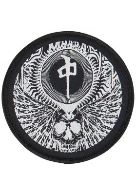 Red-Dragon Flying Skull Patch