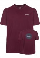 WKND T-Shirts Sketchball wine Vorderansicht