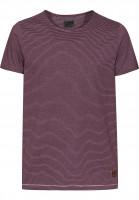 Forvert-T-Shirts-Smaland-burgundy-white-Vorderansicht