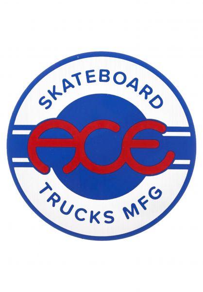 """Ace Verschiedenes 3"""" Seal Sticker blue-white vorderansicht 0972565"""
