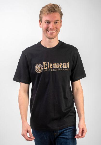 Element T-Shirts Scope flintblack vorderansicht 0320517