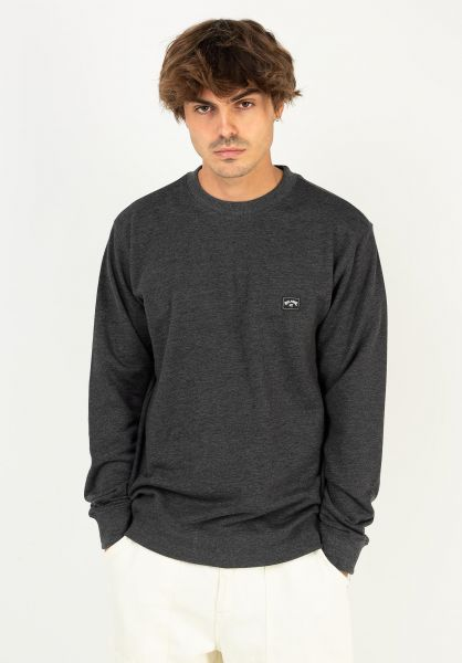 Billabong Sweatshirts und Pullover All Day black vorderansicht 0422310