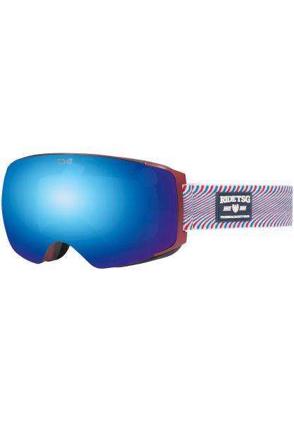 TSG Snowboard-Brille Goggle Two gum vorderansicht 0340124