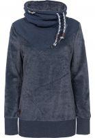 Ragwear Sweatshirts und Pullover Viola Velvet navy Vorderansicht