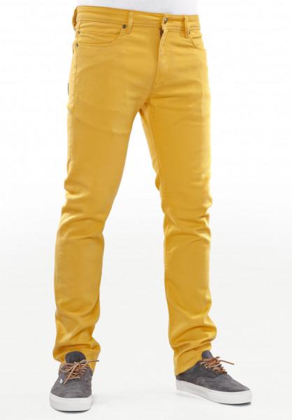 Reell Jeans Skin yellow Vorderansicht