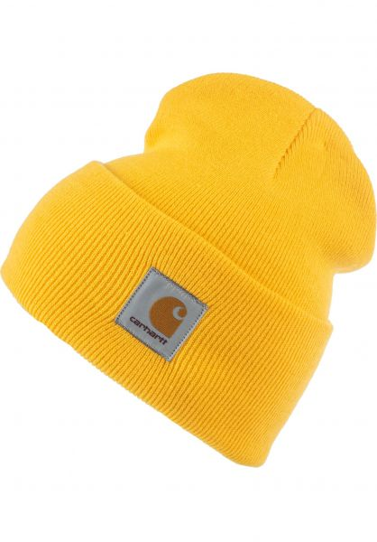 Carhartt WIP Mützen Acrylic Watch Hat sunflower vorderansicht 0570844