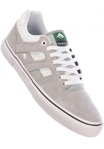 Emerica Alle Schuhe Tilt Vulc grey-white vorderansicht 0604989