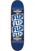 Flip Skateboard komplett Quattro blue Vorderansicht